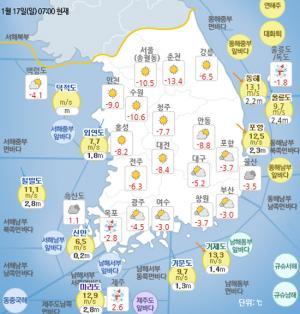 [일기예보]기상청 오늘의 날씨 및 이번주 날씨예보